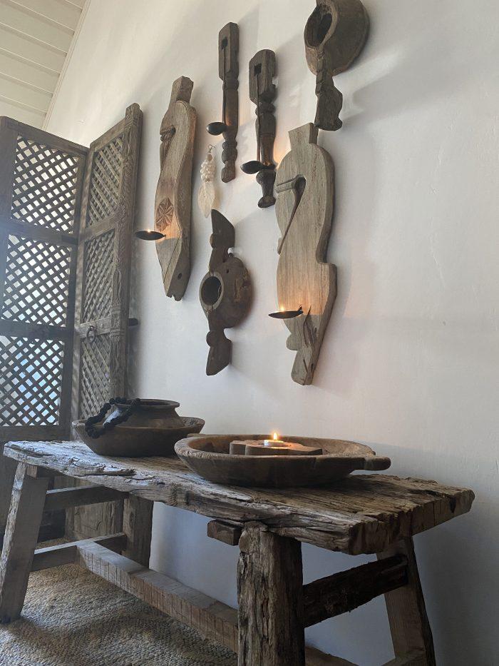 wandhangers hout